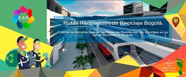 Rutas Recolección de Reciclaje en Bogotá